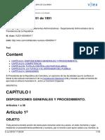 Decreto 2591 de 1991 - Reglamentario de La Acción de Tutela