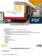 Speaking TECS