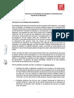 Bases del acuerdo entre PSC y JxCat para la Diputación de Barcelona