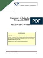 Instructivo Discapacidad Para Prestadores 2019 102