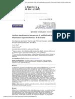 Análisis simultáneo de la remoción de Azul brillante y Rojo 40 mediante espectrofotometría de derivadas _ Villada _ Revista Científica Ingeniería y Desarrollo.pdf