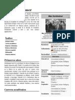 Max Horkheimer - Wikipedia, La Enciclopedia Libre