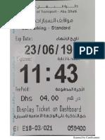 Parking Ticket 23.06.2019