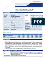 Product Note - ERFL NCD