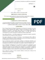 RESOLUCION 2346_2007 Regula Práctica Evaluaciones Médicas Ocupacionales y Manejo HCO