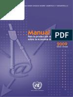 manual para la producccion de estadistica sobre economia de la informacion  ONU 2009