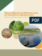 Marcos Maestros de Muestreo Para Estadistica Agropecuarias