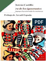 Moreno, Ricardo - La Conjura de Los Ignorantes