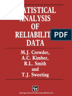 M. J. Crowder, A. C. Kimber, R. L. Smith, T. J. Sweeting (Auth.) - Statistical Analysis of Reliability Data-Springer US (1991)