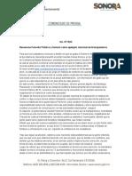 04-07-2019 Reconoce Función Pública a Sonora como ejemplo nacional de transparencia.