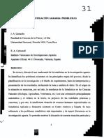 Problemas Existentes- Estadistica e Investiga Agraria