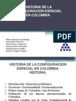 Historia de La Configuración Espacial en Colombia