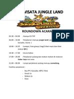 Roundown Acara Jungle Lsnf