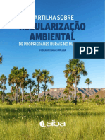 CARTILHA SOBRE REGULARIZAÇÃO AMBIENTAL DE PROPRIEDADES RURAIS NO MATOPIBA