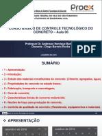 Controle Tecnológico do Concreto