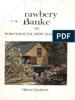 Strawbery Banke in Portsmouth, NH Official Guidebook