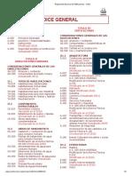 Reglamento Nacional de Edificaciones_INDICE