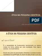 Etica Na Pesquisa Científica 1