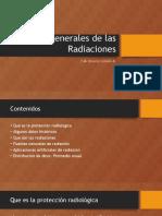 Aspectos Generales de Las Radiaciones