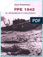 Robertson, Terence - Dieppe 1942, El Desembarco Fracasado [47419] (r1.0)