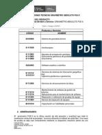 Especificaciones Tecnicas Gravimetro Absoluto FG5-X