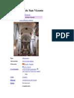 Monasterio de San Vicente