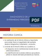 Diagnostico de La Enfermedad Periodontal