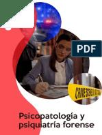 Psicopatología y Psiquiatría Forense