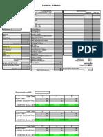 Copy of Copy of Copy of BLANK Financial Summary