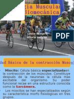 Fisiologia Muscular en La Biomecanica.