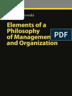 Elements of a Philosophy of Management & Organization-------Peter Koslowski--------2010.pdf