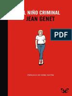 El nino criminal - Jean Genet.pdf