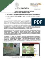 Semilla de Brasil Cofepris.pdf