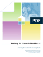 Realizing the Potential of Home Care