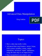 SAS Advanced Data Manipulation[1]