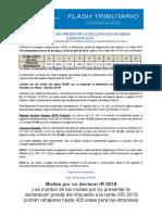 MULTAS POR NO PRESENTAR LA DECLARACION DE RENTA  EJERCICIO 2018.docx