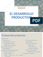 Curso 1.1. El Desarrollo Productivo