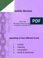 stylistics notes lecture.pdf