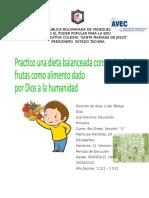 proyecto de aprendizaje de las frutas.docx