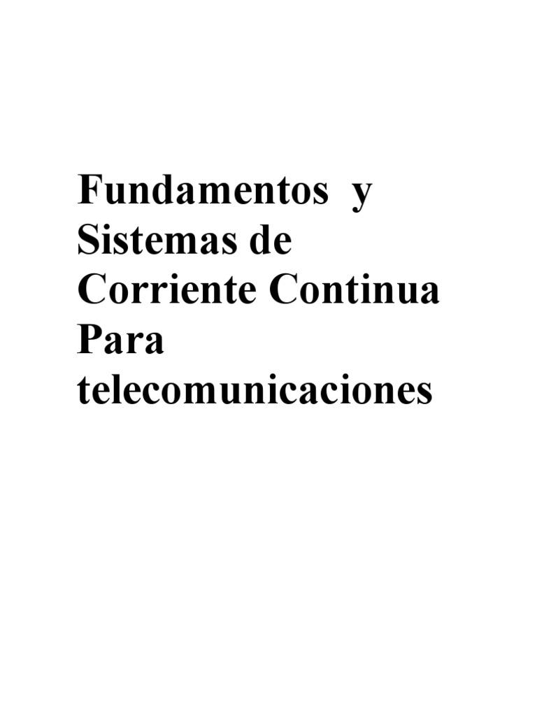 Fundamentos Operación y Mantenimiento de Sistemas de