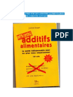 Additifs et Gelatine (C.Gouget)