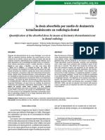 1-Cuantificación de la dosis absorbida por medio de dosimetría termoluminiscente en radiología dental (1).docx