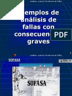 Análisis de Fallas Ejmplos, Mora Gutierrez