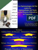 2017.04.25. Epistemologías Del Sur vs. Epistemologías Del Norte-6