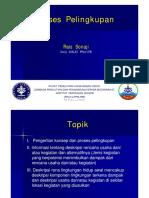 Proses Pelingkupan  (DIKLAT PENYUSUNAN AMDAL 2016).pdf