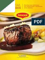 Receituario Maggi - Receitas Que Valorizam Seu Restaurante