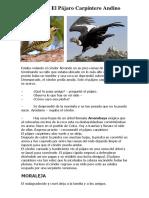 CUENTO-El Condor y El Pájaro Carpintero Andino.docx