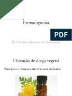Obtenção de Droga Vegetal (2)