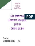 Diez Garcia Rafael - Guia Didactica De Estadistica Descriptiva Para Las Cs.pdf