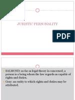 JURISTIC PERSONALITY.pptx
